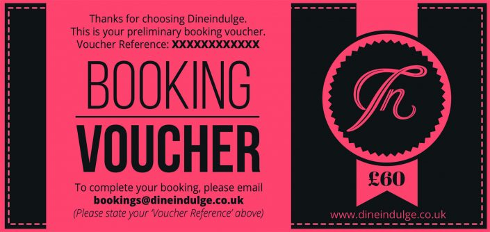 Buy a private chef christmas voucher