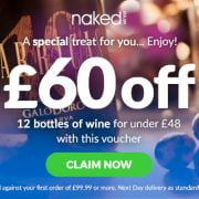 £60 off the wine for your private chef service