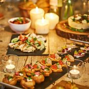 christmas party caterers at home chef