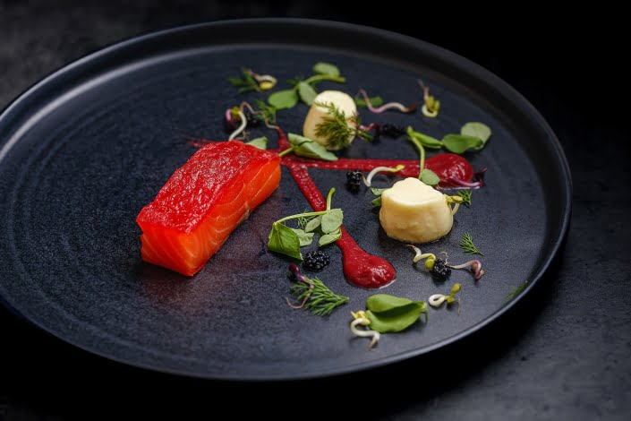 Champagne Starter - Hire a Chef at Home